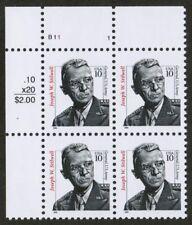 US USA Sc# 3420 MNH FVF PLATE # BLOCK Joseph W Stilwell Army General