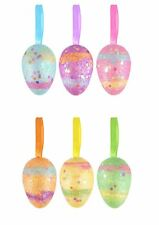 Easter Party Decorations Hanging Glitter Sparkling Eggs Gifts Crafts