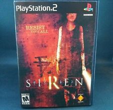 🚨Siren🚨 (Playstation 2) RARE Complete Tested Mint Condition Ps2 Horror Game