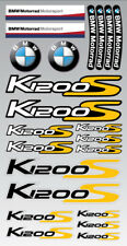 K1200S Motorrad Aufkleber blatt Laminiert stickers bmw s1200 S Motorsport Gelb