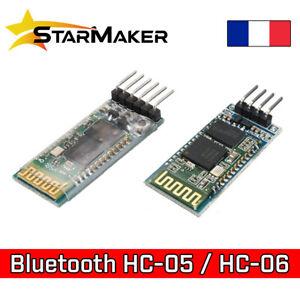 Module Bluetooth HC-05 HC-06 Emetteur récepteur pour Arduino PIC AVR HC05 HC06