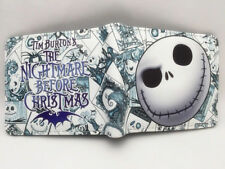 The Nightmare Before Christmas Jack Skellington 12cm Leather Wallets Purse Gift