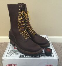 """Whites Brown SmokeJumpers  400BV 10"""" 10.5D  Brand new Logger boots"""