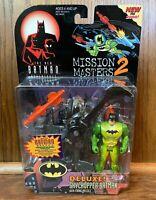 Skychopper Batman Vintage Animated Series Mission Masters 2 Figure New 1999 90s