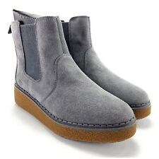 Timberland Women's Bluebell Lane Dark Grey Suede Chelsea Boots Size 9.5 M