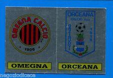 CALCIATORI PANINI 1985-86 Figurina-Sticker n. 598 -OMEGNA-ORCEANA SCUDETTO-New