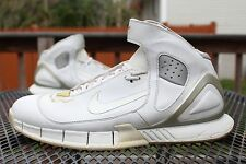 2005 Nike Huarache 2k5 All White size 13 doernbecher og lot bred Lebron low kobe