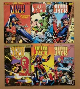 Grimjack #1-6 Lot of 6 First Comics 1984 VF/VF+