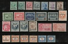 Italy Eritrea 1903-1924 collection of 25. MLH.Very Fine.