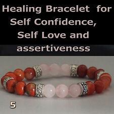 SELF CONFIDENCE, SELF LOVE AND ASSERTIVENESS Healing Bracelet