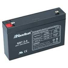 Batterie 6V 7.2Ah PR AGM GEL Moped Kinderfahrzeuge Elektroquad Elektroauto Akku