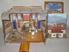 Gladiatoren - Abenteuer-Kiste - Aufklappbox Amphitheater-Modell - Spielzeug