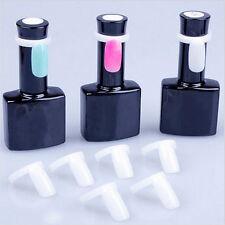 50 Pcs Acyylic Full Nail Tips Polish Gel Color Pops Display Ring Style Nail Tip