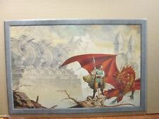 vintage poster original Mind Of the Magic  Dragon dragons  11351