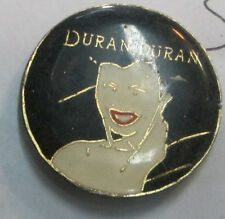 DURAN DURAN VINTAGE METAL LAPEL PIN NEW FROM LATE 80'S HEAVY METAL WOW