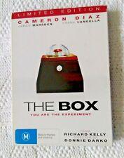 THE BOX – CAMERON DIAZ (DVD) REGION-4, LIKE NEW, FREE POST WITHIN AUSTRALIA