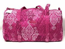 Vera Bradley STAMPED PAISLEY Small DUFFEL TRAVEL BAG (New & Sealed)