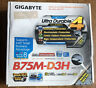 Gigabyte GA-B75M-D3H Motherboard Intel B75 Express LGA 1155 DDR3 Old Stock
