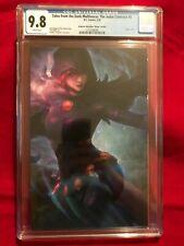 Teen Titans Raven Virgin Variant Artgerm Collectibles Judas Contract Cgc 9.8