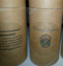 2oz Paperboard Handcrafted Customized Organic Vegan Ozonated Deodorant OZONE