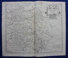 HEREFORDSHIRE original antique map from CAMDEN'S BRITANNIA, Robert Morden, 1722
