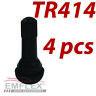 4 x TR414 Gummiventile Snap-In PKW Reifenventile Ventile Felgenventile Gummi