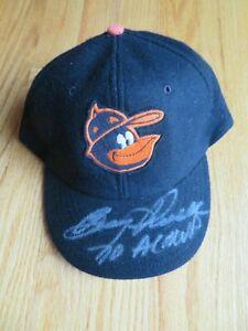 Vintage Cooperstown BOOG POWELL signed 1970.BALTIMORE ORIOLES MVP Baseball Cap
