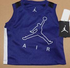 New Boy's Blue  Jordan  shirt  Size 12 months