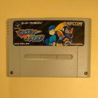 Rockman & Forte / Mega Man & Bass (Nintendo Super Famicom SNES SFC, 1998) Japan