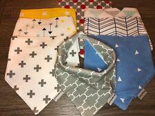 Baby Bandana Bibs Multi Colors 8 pack