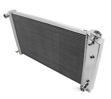 "Blazer Radiator,Aluminum 2 Row 1"", Carbon Fiber Fan Shroud,Fans & Relay Kit"