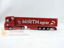 """Herpa 311519 Scania CS 20 HD Schubboden-Sattelzug """"Wirth Agrar"""""""