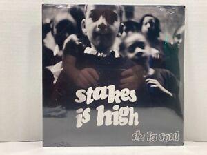 DE LA SOUL - STAKES IS HIGH LP VINYL (1996 TOMMY BOY) ORIGINAL PRESSING