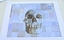 Skull Poster Art- UNTITLED IMAGERY-ANDRES GUERRERO 14x11 Unsigned Offset Litho