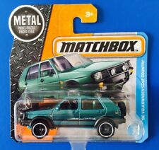 2017 Matchbox 1990 VOLKSWAGEN GOLF COUNTRY 4WD - mint on short card!