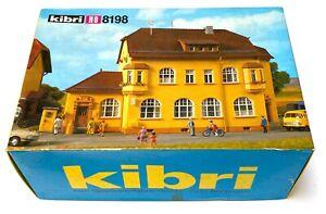 Kibri 8198 Bureau de postes (Post) NEU OVP en boîte ouverte