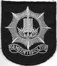 """HOLLAND Niederlande POLITIE """" Gemeentepolitie """" Police Patch Polizei Abzeichen"""