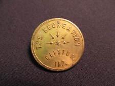 Vintage The Recreation Trade Token - Clinton, IN Token - 25 Cent Coin
