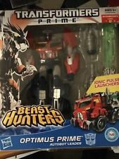 TRANSFORMERS PRIME BEAST HUNTERS OPTIMUS PRIME  VOYAGER CLASS  2012.