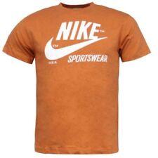 Magliette da uomo Nike arancione