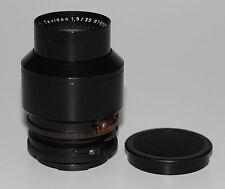 CARL ZEISS JENA DDR Objektiv Lens TEVIDON 1,9/35 mit BAJONETT Anschluss
