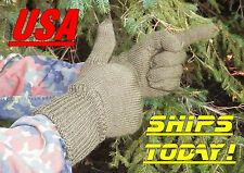 NEW JUMBO Wool Blend Gloves Czech Military Surplus Hunting Fishing Men's  XXL