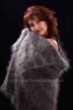 Russian Orenburg Shawl Wrap (85 % Goat Down 15% Cotton) Handmade 150x150cm
