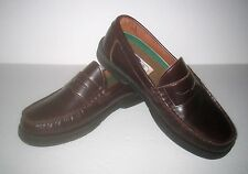 Men's / Boys's Size 7 Classic Brown Leather Penny Loafers