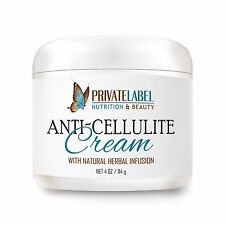 Organic Anti-Cellulite Cream Reducing Swelling and Puffiness 4oz