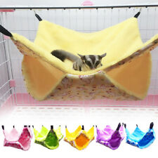 Pet Supplies Double Layer Small Animal Winter Warm Guinea Pig Hamster Hammock