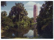 LAKE WALES FLORIDA Singing Tower BOK TOWER GARDENS Giant Postcard PC Iron Mt