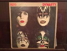 Kiss - Dynasty LP RARE ISRAELI PRESS OOP HARD ROCK VG+ / VG+