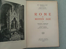 RELIURE FREDERICO HERMANIN ROME AU MOYEN AGE EDITIONS NILSSON 1927
