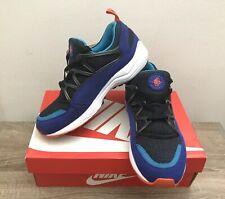 Nike Air Huarache Light Ultramarine Concord Team Orange Black Sz 7.5 306127-480